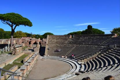 Ostia Antica - antiken